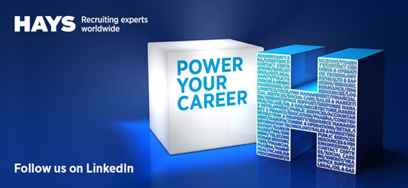 Hays recruiting experts worldwide – follow us on LinkedIn